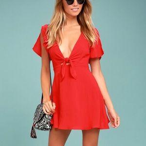 Cute Red Skate Dress